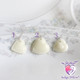 Choose any ONE of these breast milk heart charms!