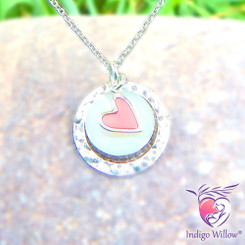 Heart of Mine Breast Milk Necklace