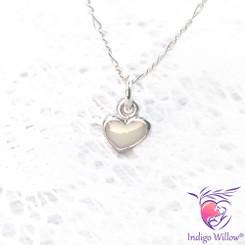 Cute Breast Milk Heart Pendant/Charm