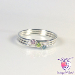 Birthstone Stacking Ring(s)