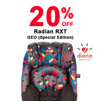 20% off Diono RXT Geo (Special Edition)
