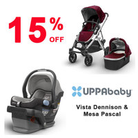 15% OFF Selected Uppababy