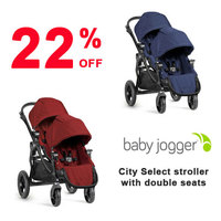 22% off Baby Jogger