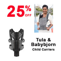 25% off Tula Carriers