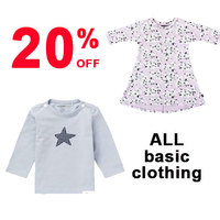 20% off ALL Basic Clothing