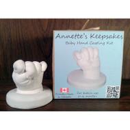 Annettes Keepsakes 3D Baby Hand Casting Kit