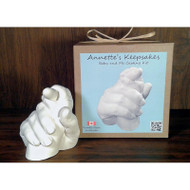 Annettes Keepsakes 3D life - Baby & Me Casting Kit