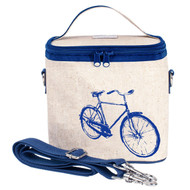SoYoung Large Insulated Cooler Bag - Blue Bicycle