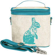 SoYoung Small Insulated Cooler Bag - Aqua Bunny