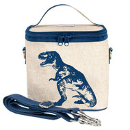 SoYoung Small Insulated Cooler Bag - Blue Dino