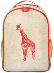 SoYoung Toddler Backpack - Orange Giraffe