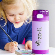 Zoli POW Squeak Insulated Straw Bottle