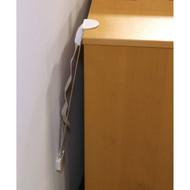 Qdos Furniture Tip over Kit- White (2Pack)