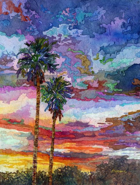 Evening Glow by Hailey Herrera