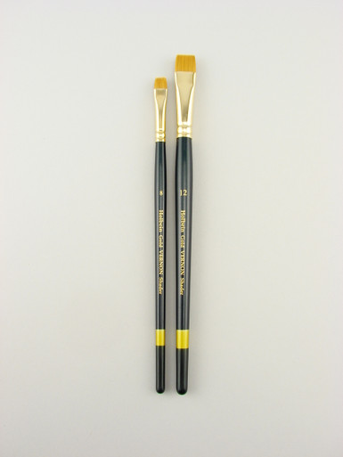 The Vernon Shader #8 is designed to provide a controlled application of paint and to offer the perfect lift of watercolors from Aquabord and heavy papers.  The brush is designed for controlled lifting and not for scrubbing.