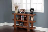 Three-shelf Industrial Bookcase - 30-inch