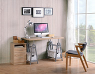 OS Home and Office Adjustable Height Writing Desk