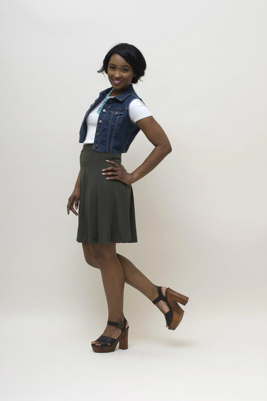 Mix and match with BePear skirts for a flexible wardrobe.