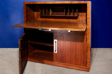 SOLD - Modern Age Art Deco Drop Down Desk / Secretary. C 1940s