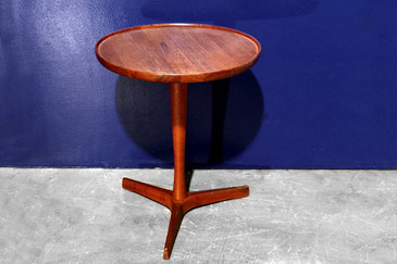 SOLD - Hans C. Andersen Danish Teak Side Table, circa 1955
