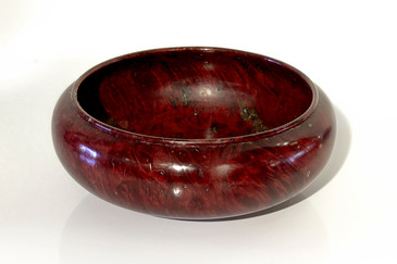 SOLD - Lanny Lyell Maple Burl Wood Bowl, Signed