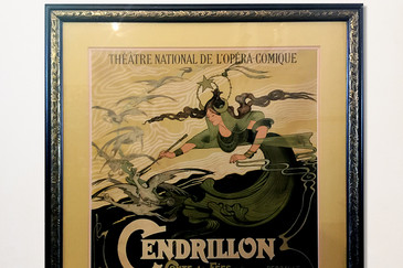 "SOLD - Original ""Cinderella"" French Advertising Poster, circa 1899"