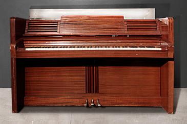 SOLD - Rare Jansen Art Deco Upright Piano, circa 1938