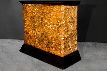SOLD - Dr. Phil's Lucite Bar, Display Console