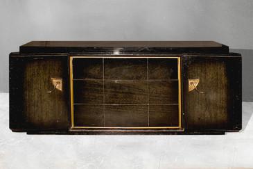 Rare Robert Lewis Three-Piece Bedroom Set, circa 1948