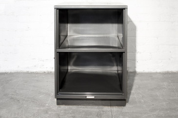 SOLD - 1960s Steelcase Office Cabinet, Refinished