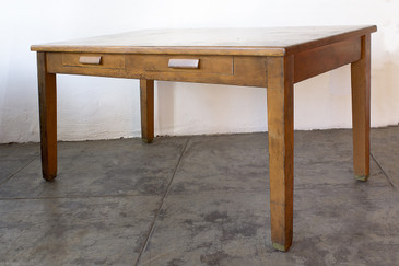 SOLD - Antique Craftsman Library Table