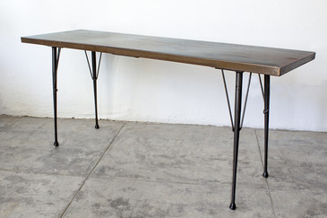 SOLD - Mid-Century Patina Console Table, Rehab Original