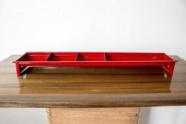 SOLD - Tanker Desk Drawer Insert Repurposed as Desktop Organizer, Refinished