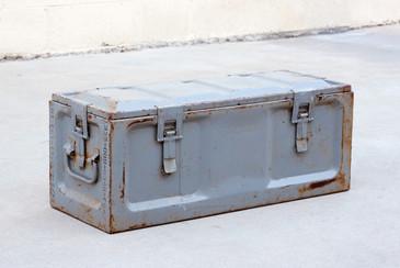 SOLD - Vintage U.S. Army Ammo Fuze Case, WWII