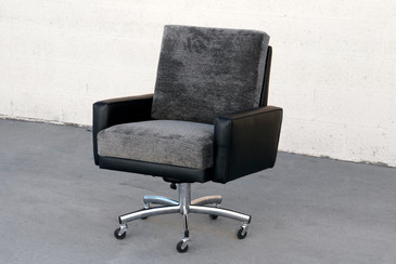 SOLD - Vintage Modern Steelcase Executive Armchair