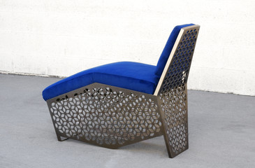 Modern Petite Chaise Lounge Chair, CUSTOM ORDER