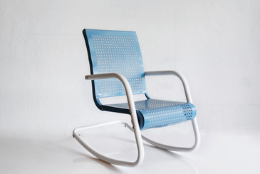 SOLD - Mid-Century Modern Child's Rocking Chair