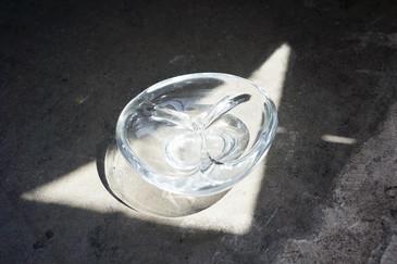 SOLD - 1960s Triangular Murano Glass Ashtray, Gino Cenedese