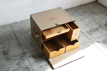 SOLD - WWII US Army Officer's Field Desk