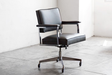SOLD - 1970s SteelCase Office Chair, Refinished