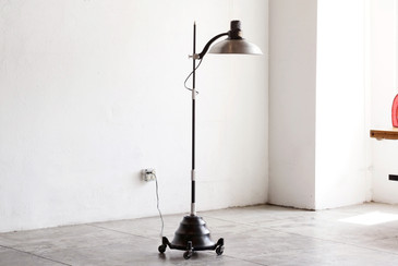 SOLD - 1920s General Electric Converted Sunlamp, Refinished