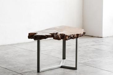 Rehab Original - Modernist Redwood Burl Coffee Table - CUSTOM ORDER