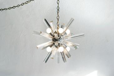 SOLD - 1960s Murano Sputnik Pendant Light