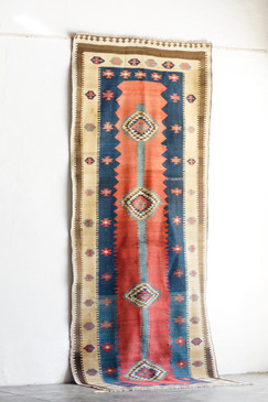SOLD - Antique Kilim from Bijar Province