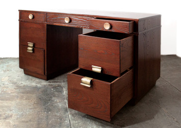 SOLD  - 1940s Art Deco Desk by Paul Frankl for Brown Saltman