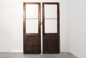 SOLD - Pair of Antique Cabinet Doors c.1900