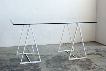 SOLD - Minimalist Triangle Table Legs, c. 1960s