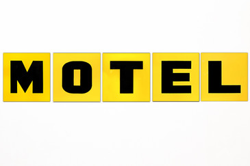 SOLD - 1960s Motel Sign Letters