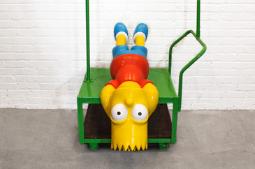 SOLD - Bart Simpson Promotional Statue, 2007