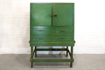 SOLD - Antique Machinists Cabinet, circa 1920